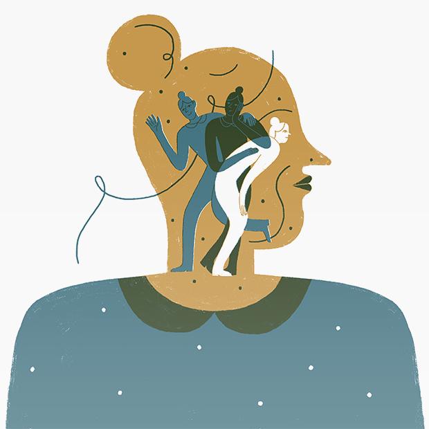 «Я существую в тебе»: Как живут люди со множественной личностью