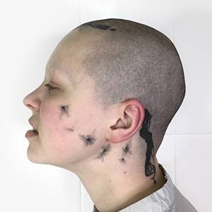 Моя татуировка: Дата-журналист Дада Линделл и её тату на лице — Красота на Wonderzine