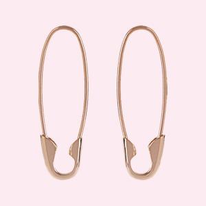 Для любителей минимализма: 10 пар серёг от простых до роскошных — Стиль на Wonderzine