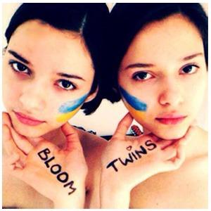 Новое имя: Украинско-британский  дуэт Bloom Twins — Музыка на Wonderzine