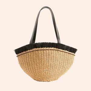Плетёные сумки для города: 10 моделей от простых до роскошных — Стиль на Wonderzine