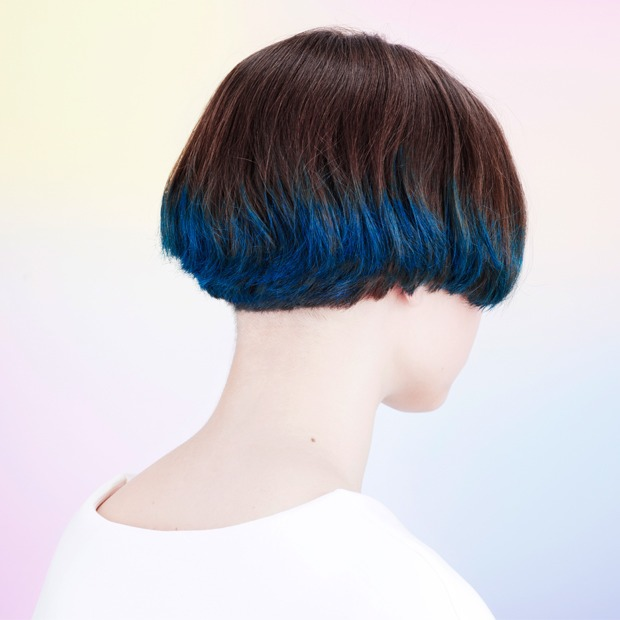 Инструкция: Цветные волосы быстро и ненадолго