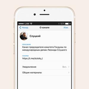 Депутат Леонид Слуцкий завёл телеграм-канал — Что вы творите на Wonderzine