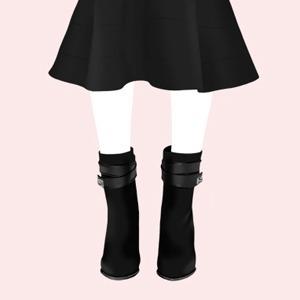 Как сочетать  длину юбок  с осенней обувью