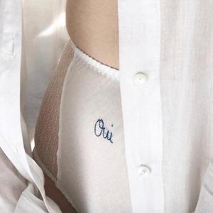 На кого подписаться: Инстаграм белья с изящной вышивкой — Стиль на Wonderzine