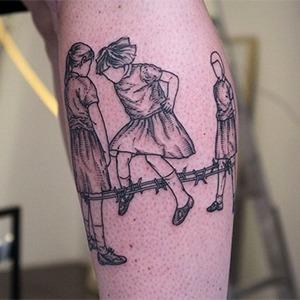 Моя татуировка: Музыкантка и креаторка Сима Питерская  о прыгающих девочках — Красота на Wonderzine