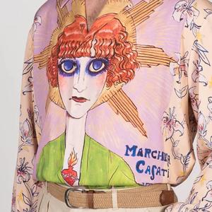 Рубашка Fratelli Mocchia di Coggiola, вдохновлённая маркизой Казати — Вишлист на Wonderzine