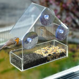 Вишлист: Кормушка для птиц, которую можно прикрепить на окно  — Вишлист на Wonderzine