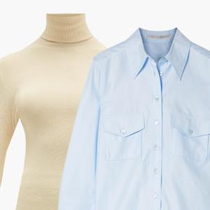 Комбо: Рубашка с водолазкой — Стиль на Wonderzine