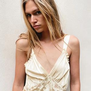 Условно-свадебное шёлковое платье Zara — Вишлист на Wonderzine