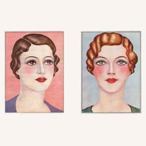 В закладки: Блог  о винтажной моде, красоте  и причёсках Glamour Daze — Красота на Wonderzine