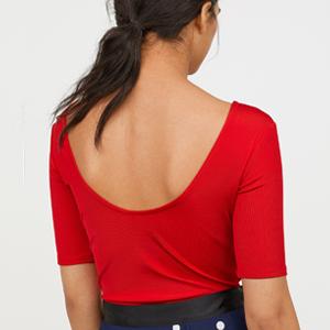 Рельефное трикотажное боди с косточками H&M — Вишлист на Wonderzine