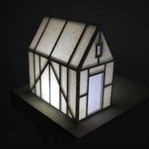 Настольный домик 2of2  с привидениями  и подсветкой  — Вишлист на Wonderzine