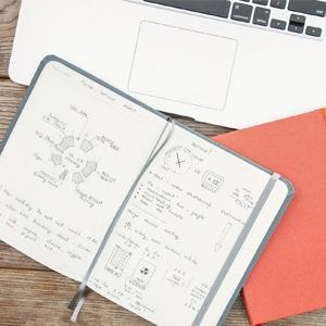 Ежедневник, синхронизирующийся с календарём в смартфоне — Вишлист на Wonderzine