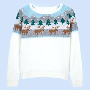 10 рождественских свитеров для себя  или в подарок — Вишлист на Wonderzine