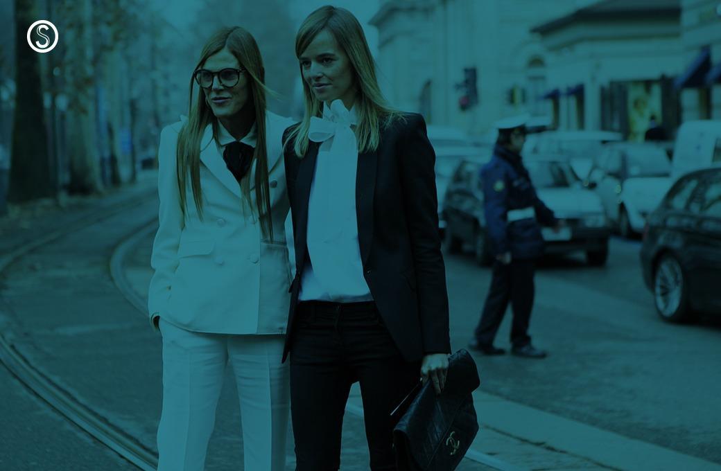 Анна Делло-Руссо, Элеонора Каризи и другие гости Миланской недели моды
