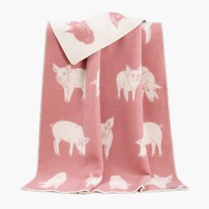 Уютное одеяло с хрюшами — Вишлист на Wonderzine