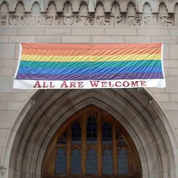 10 церквей, которые не преследуют гомосексуальность