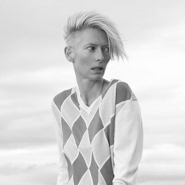 Тильда Суинтон:  «Я слишком ленива,  чтобы быть cool» — Интервью на Wonderzine