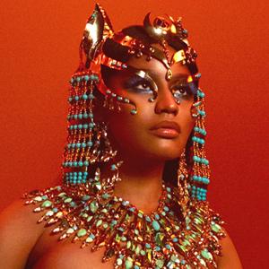 Макияж Ники Минаж на обложке альбома «Queen» — Guilty Pleasure на Wonderzine