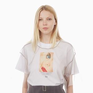 Огромная прозрачная футболка Stussy — Вишлист на Wonderzine