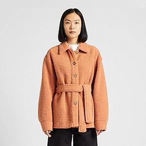Флисовая куртка с поясом Uniqlo U — Вишлист на Wonderzine