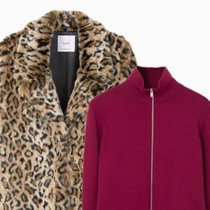 Комбо: Леопардовая шуба с трикотажным свитером — Стиль на Wonderzine
