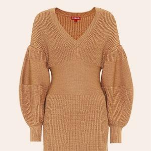 Не будь лапшой: 10 трикотажных платьев от простых до роскошных — Стиль на Wonderzine
