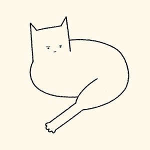 На кого подписаться: Смешные схематичные рисунки котов — Развлечения на Wonderzine