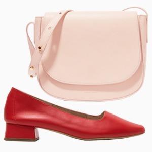Комбо: Розовый с красным — Стиль на Wonderzine