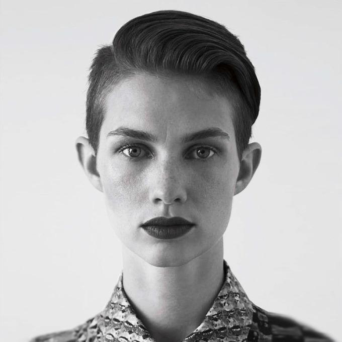 Хармони Боучер, модель — Новая марка на Wonderzine