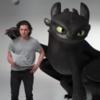 Кит Харингтон и дракон Беззубик проходят пробы в «Игру престолов»