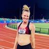 Легкоатлетка Линдси Флак участвовала в отборе на Олимпиаду на восемнадцатой неделе беременности