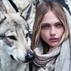 Новый лукбук Mango: Саша Пивоварова, Монблан и волки