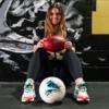 Сара Фуллер стала первой девушкой, сыгравшей за одну из ведущих команд по студенческому футболу