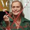 73-летняя модель Лорен Хаттон снялась  для обложки Vogue Italia