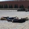 На Красной площади восемь активистов выложили телами «2036»