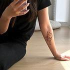 Моя татуировка: PR-менеджер Алёна И с напоминанием о Сахалине