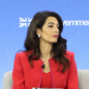 Амаль Клуни уволилась с поста спецпосланника Великобритании по вопросам свободы СМИ