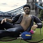 В Лондоне появился гигантский Джефф Голдблюм