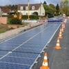 Во Франции появилась первая дорога, выложенная солнечными батареями