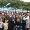 Тысячи жителей Башкирии вышли на акцию протеста против вырубки леса на горе Куштау