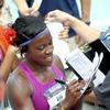 Спортсменка пробежала дистанцию на пятом месяце беременности