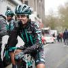 Бельгийскую велосипедистку остановили во время гонки