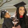 Родившая во время сессии американка успешно окончила Гарвард