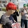 В Екатеринбурге задержали феминисток, вышедших  с пикетами против РПЦ