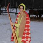 Шерстяные одеяла и лыжи в лукбуке новой коллекции Inshade