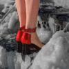 В соцсетях обсуждают условия работы моделей на холоде