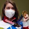 Стрелок Виталина Бацарашкина завоевала первое золото России на Олимпиаде