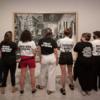 В музее Пикассо прошла акция протеста: активистки указали на то, как художник обращался с женщинам